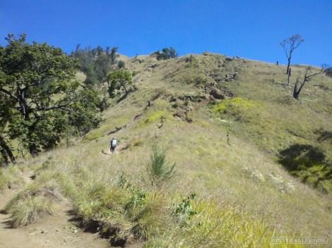 Mount Rinjani - first day scenery 2