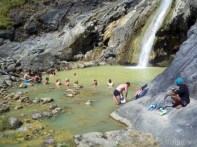 Mount Rinjani - hot springs 2