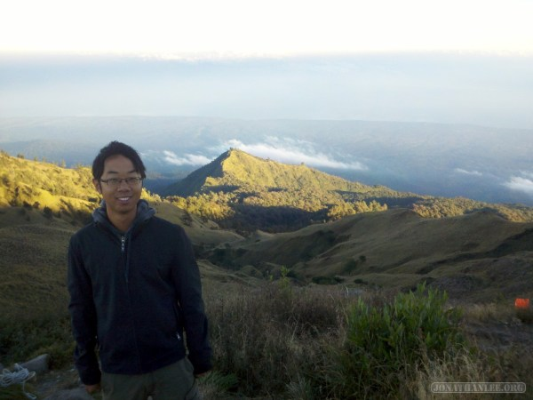 Mount Rinjani - second day portrait 1