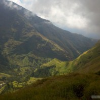 Mount Rinjani - second day scenery 3