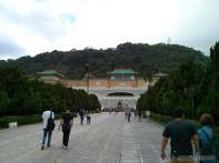 National Palace Museum - from a distance