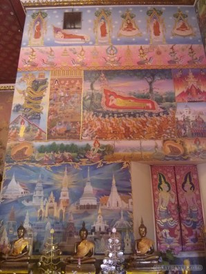Nong Khai - Wat Phochai mural 3