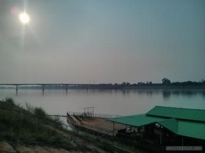Nong Khai - friendship bridge view