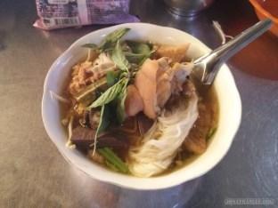 Phnom Penh - noodles lunch