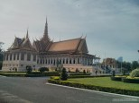 Phnom Penh - royal palace building 2