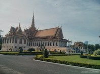 Phnom Penh - royal palace building 2