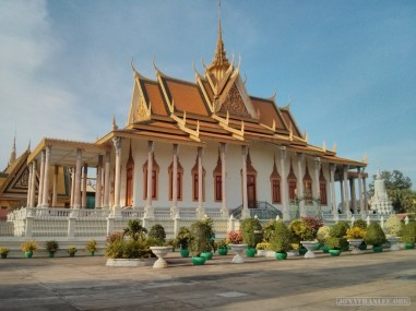 Phnom Penh - royal palace building 6