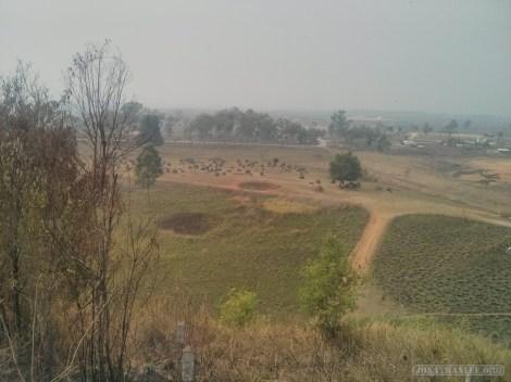 Phonsavan - Field of Jars landscape 5