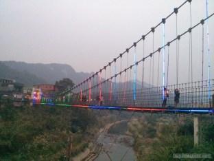 Pingxi - Shifen Jing An suspension bridge