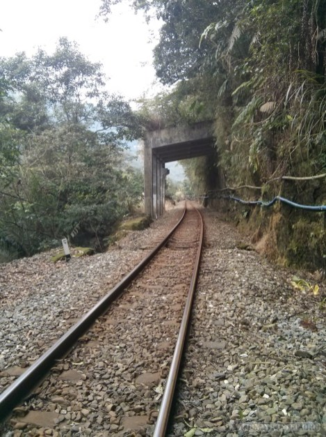 Pingxi - walking along railway 2