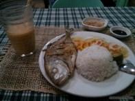 Port Barton - fish dinner