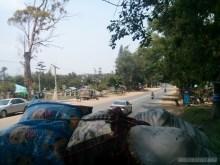 Pyin U Lwin - riding on truck 2