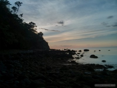 Sabang - pebble beach sunset 2