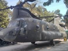 Saigon - War Remnants Museum helicopter 1
