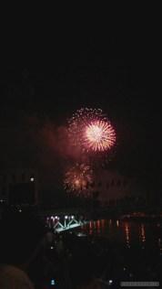 Saigon during Tet - fireworks 10