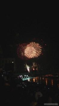 Saigon during Tet - fireworks 3
