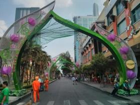 Saigon during Tet - flower street 1