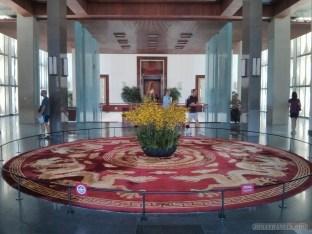 Saigon - reunification palace centerpiece