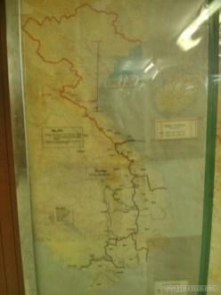Saigon - reunification palace map