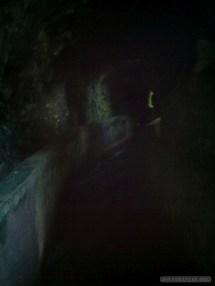Senaru - inside canal tunnel 1