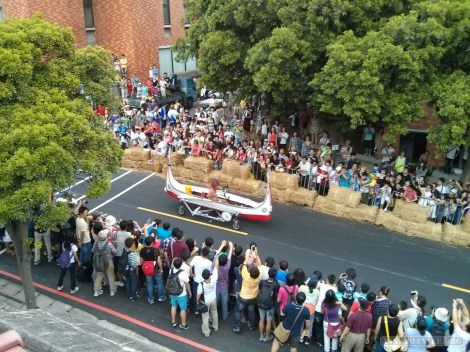 Soapbox race - canoe cart
