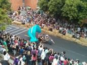 Soapbox race - paraglider cart