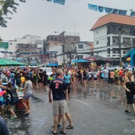 Songkran in Bangkok - Khao San nearby 2