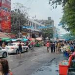Songkran in Bangkok - Khao San nearby 3