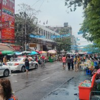 Songkran in Bangkok - Khao San nearby 3