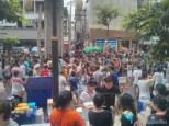 Songkran in Bangkok - Silom street 5