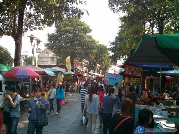 Tainan - Anping fort market