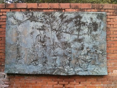 Tainan - Anping fort stone tablet