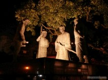 Tainan - Chikan tower statues