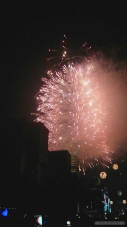 Taipei 101 New Years fireworks - fireworks 14