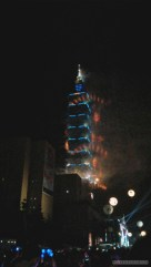 Taipei 101 New Years fireworks - fireworks 5