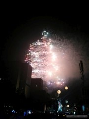 Taipei 101 New Years fireworks - fireworks 7