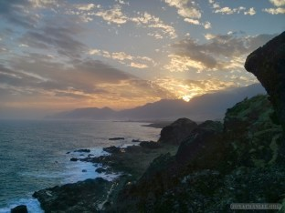 Taitung - Sanxiantai sunset 2