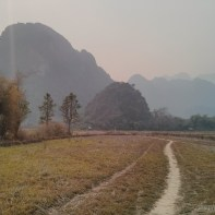 Vang Vieng - Pha Poak mountain road