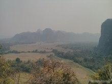 Vang Vieng - Pha Poak peak view 2