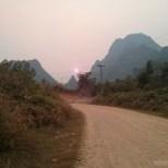 Vang Vieng - biking road 3