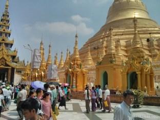Yangon - Shwedagon pagoda 3