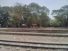 Yangon - circular train view 2