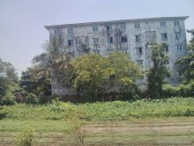Yangon - circular train view 5