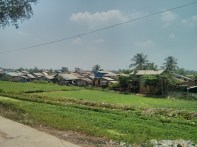 Yangon - circular train view 9