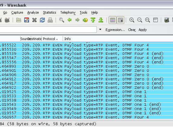 How To: Capture DTMF Digits(rfc 2833) from Asterisk with Tcpdump