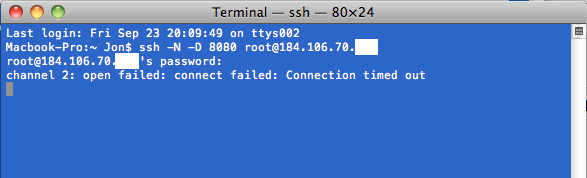 How To: Easy Mac OSX SSH Tunnel Tutorial using Terminal CLI