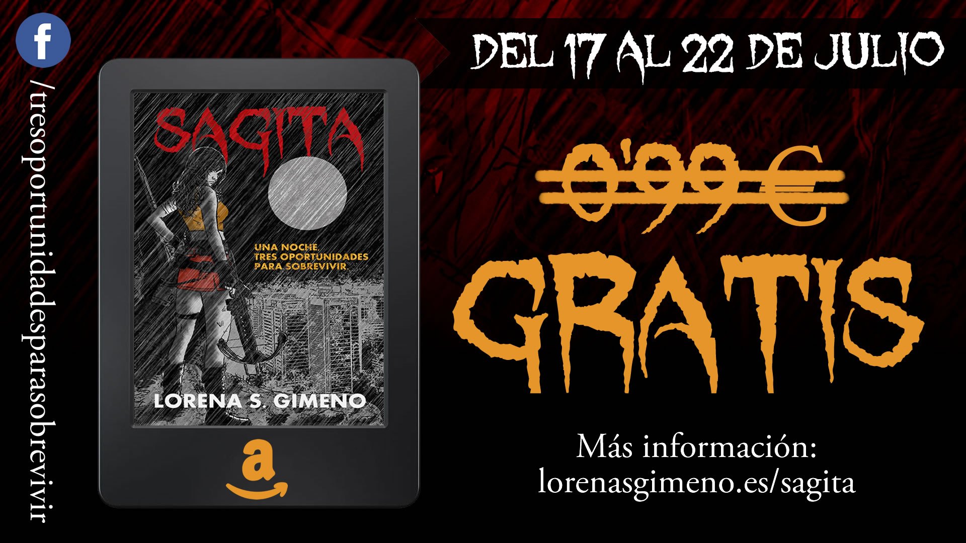 Oferta literaria: ¡Sagita GRATIS!