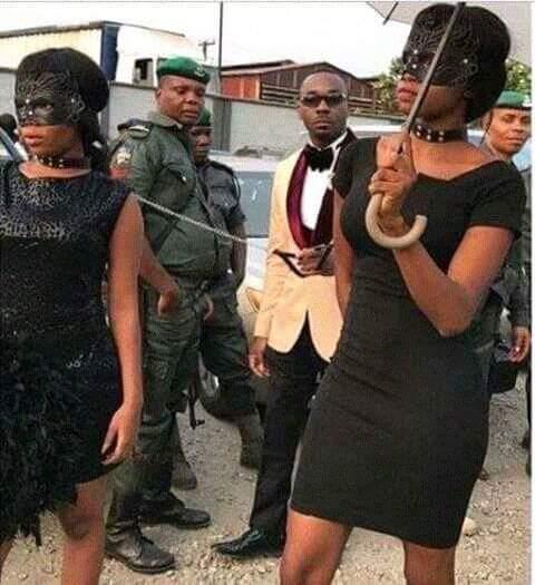 Nigerian Girl in a Bondage