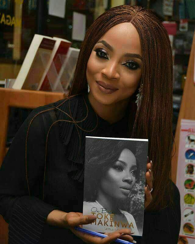 Toke Makinwa's On Becoming Book