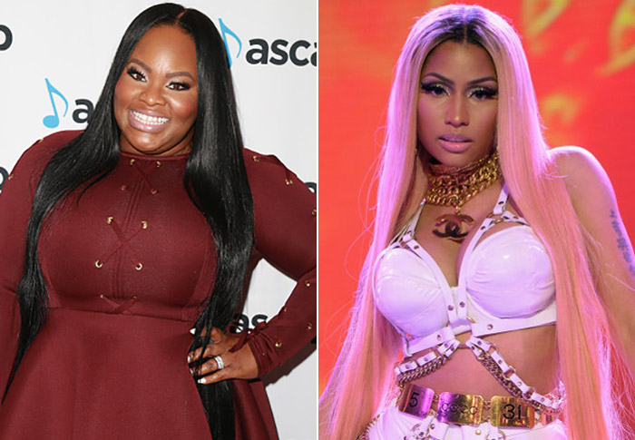 tasha cobbs and Nicki minaj